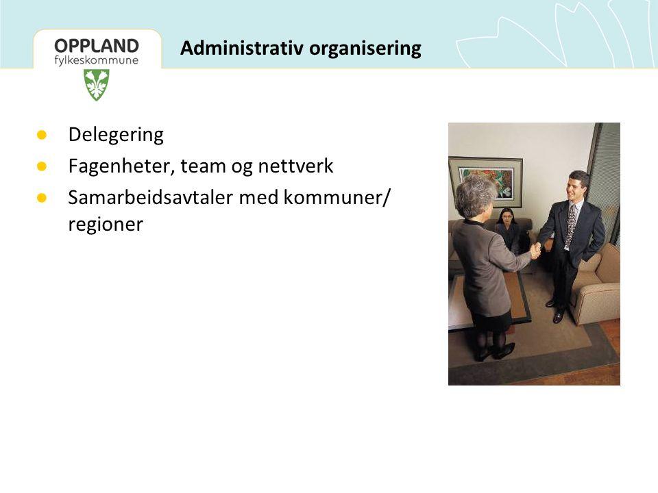 Administrativ organisering