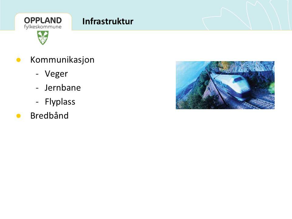 Infrastruktur Kommunikasjon - Veger - Jernbane - Flyplass Bredbånd