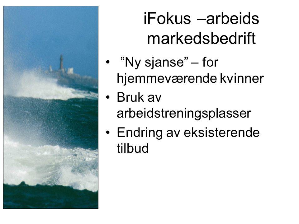 iFokus –arbeids markedsbedrift