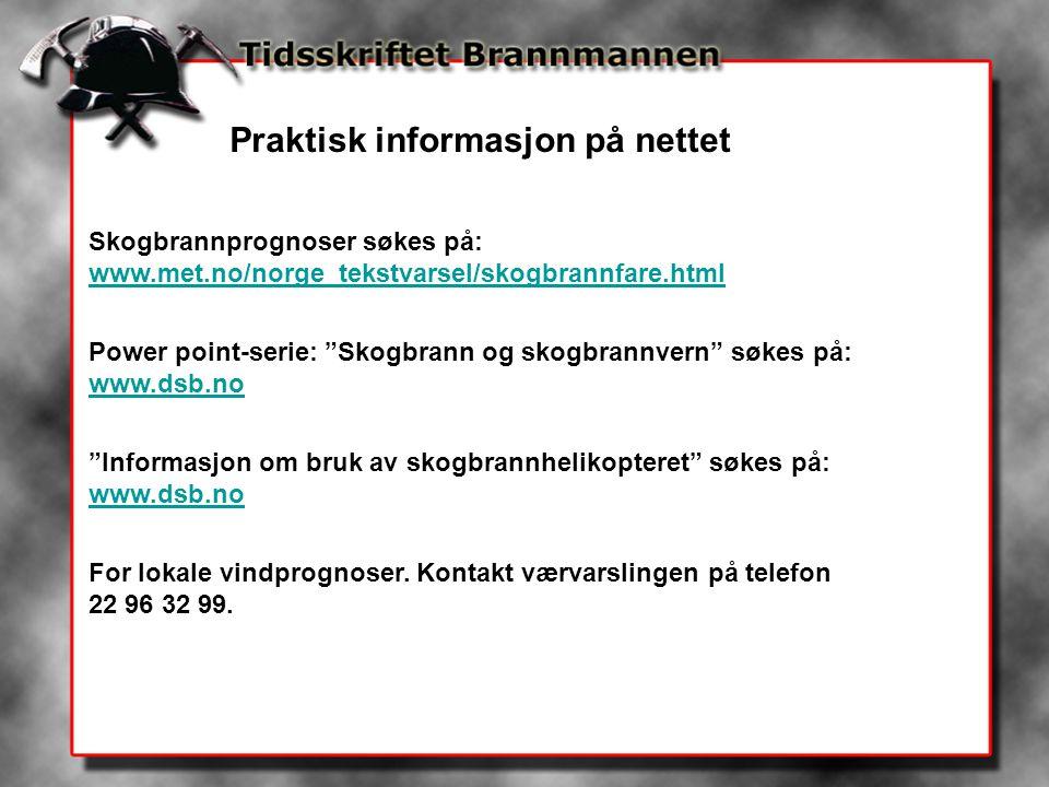 Praktisk informasjon på nettet