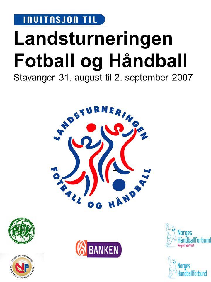 Landsturneringen Fotball og Håndball Stavanger 31. august til 2
