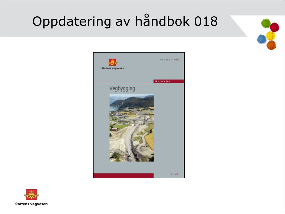 Oppdatering av håndbok 018