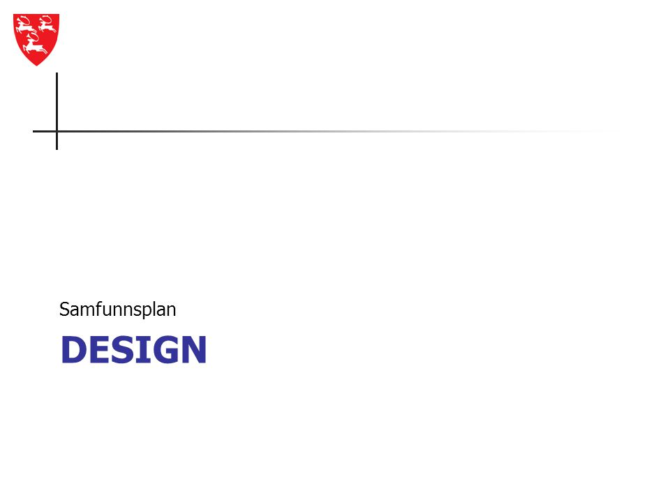 Samfunnsplan Design