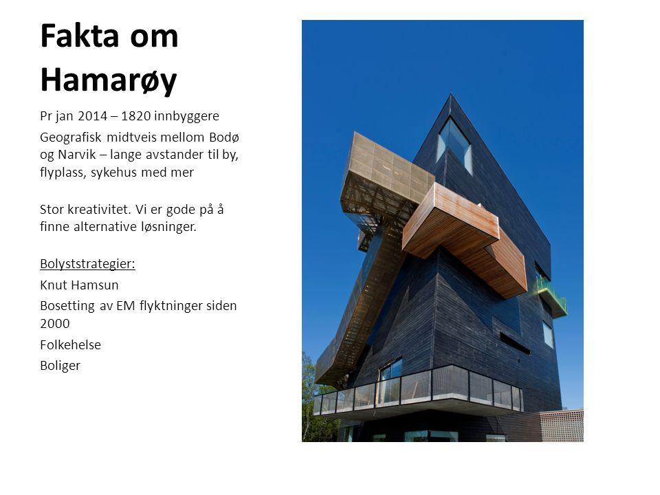 Fakta om Hamarøy Pr jan 2014 – 1820 innbyggere