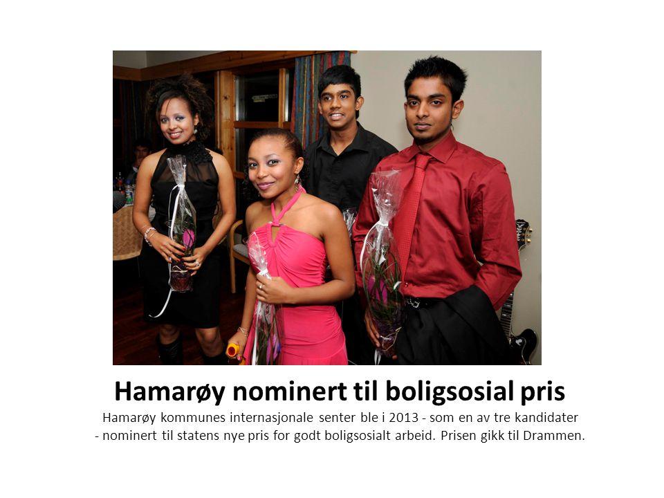 Hamarøy nominert til boligsosial pris