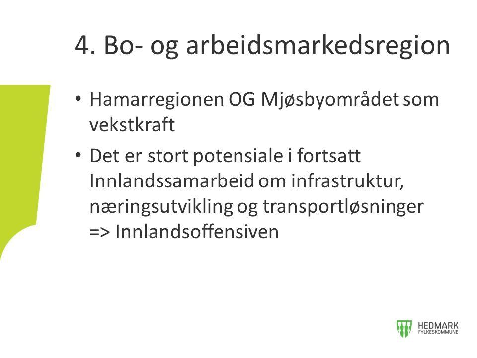 4. Bo- og arbeidsmarkedsregion