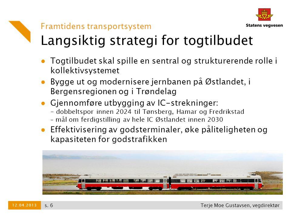 Langsiktig strategi for togtilbudet