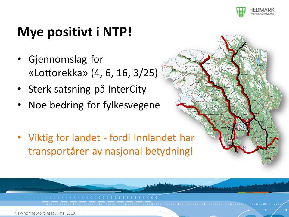 Mye positivt i NTP! Gjennomslag for «Lottorekka» (4, 6, 16, 3/25)