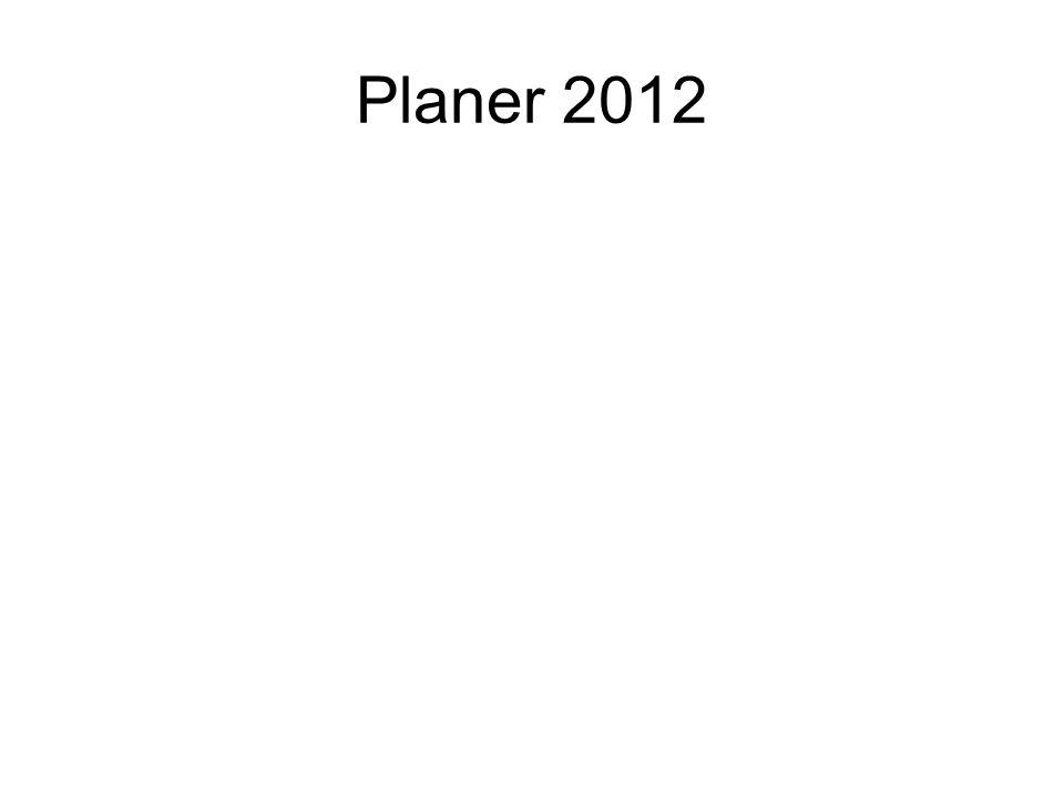 Planer 2012