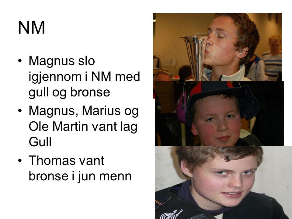 NM Magnus slo igjennom i NM med gull og bronse
