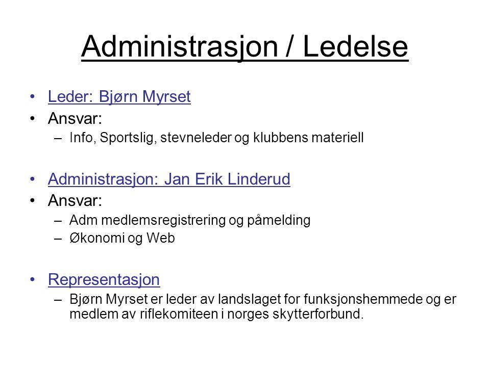 Administrasjon / Ledelse