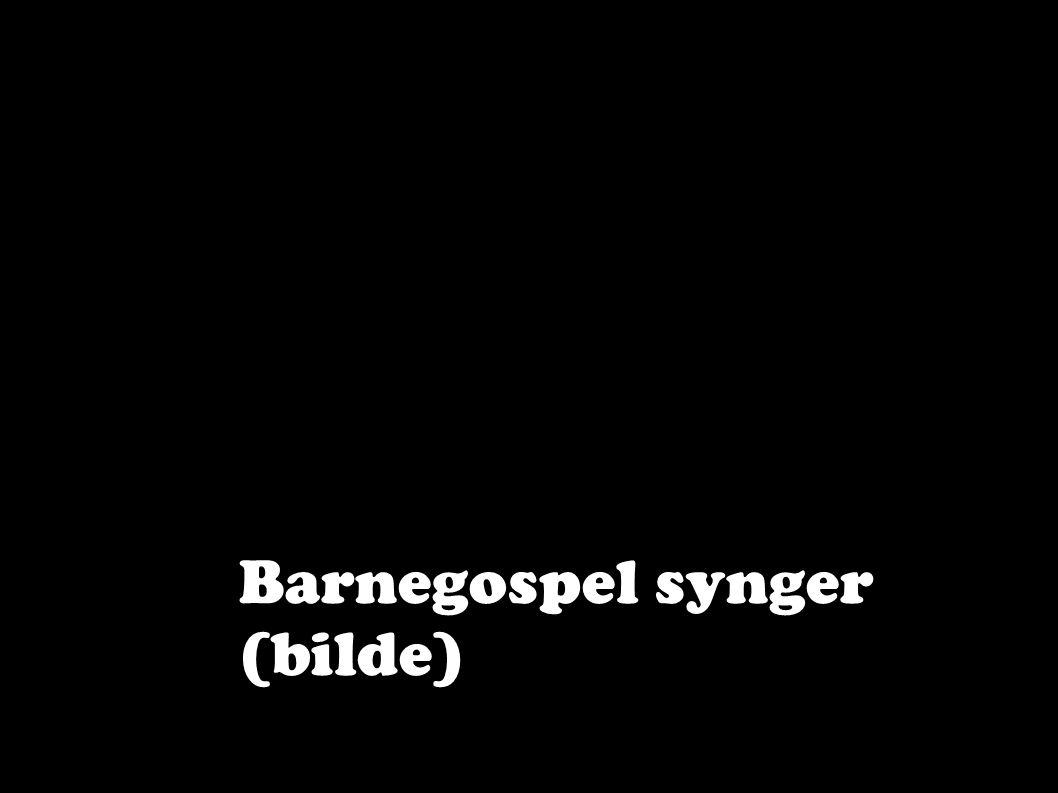 Barnegospel synger (bilde)