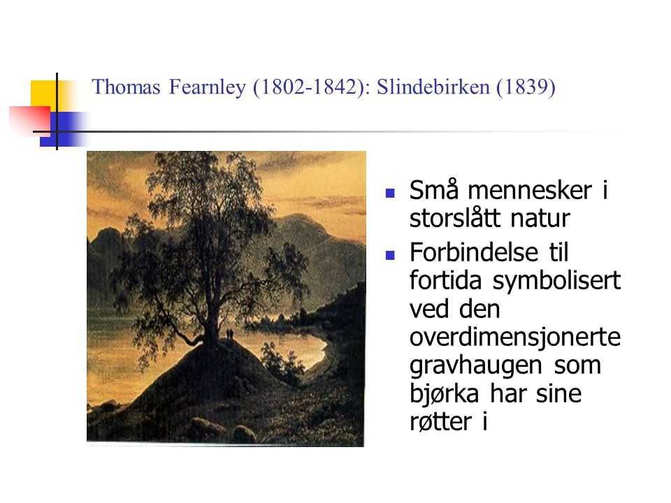 Thomas Fearnley (1802-1842): Slindebirken (1839)