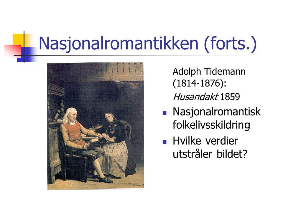 Nasjonalromantikken (forts.)