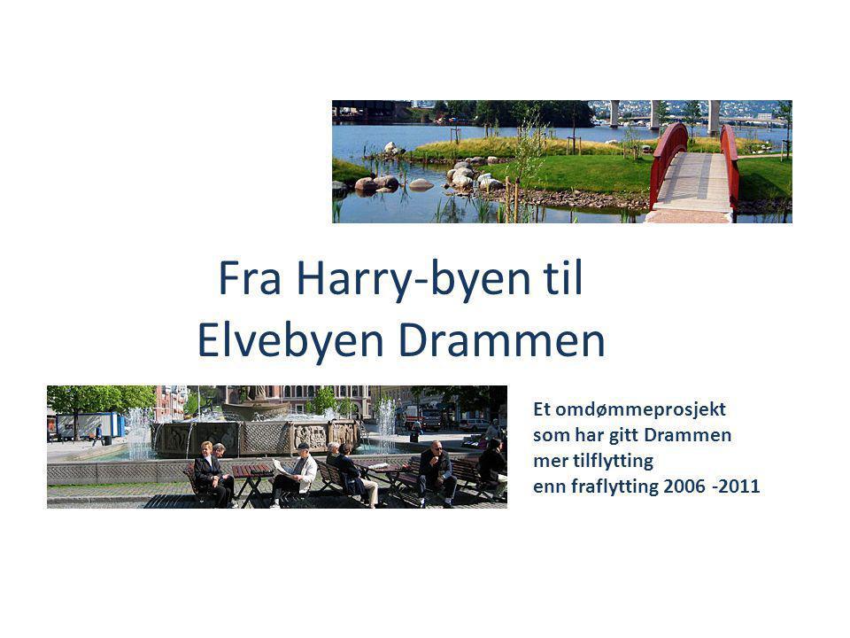 Fra Harry-byen til Elvebyen Drammen