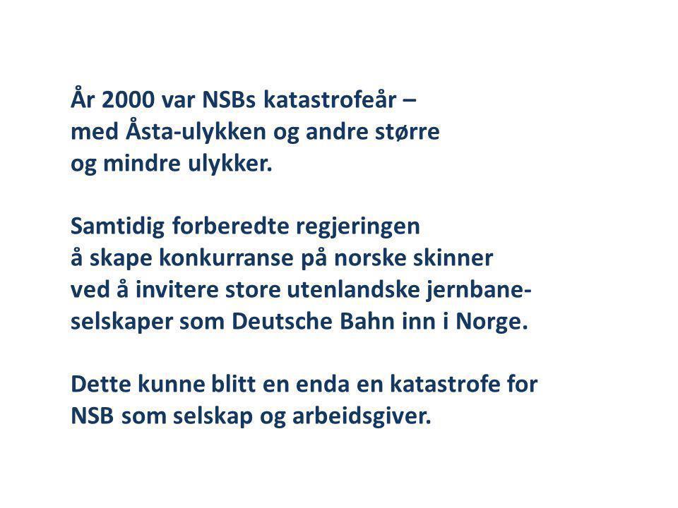 År 2000 var NSBs katastrofeår –