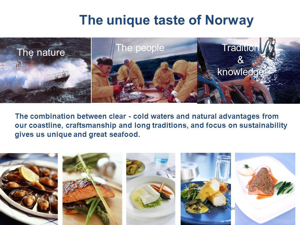 The unique taste of Norway