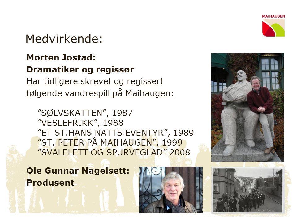 Medvirkende: Morten Jostad: Dramatiker og regissør