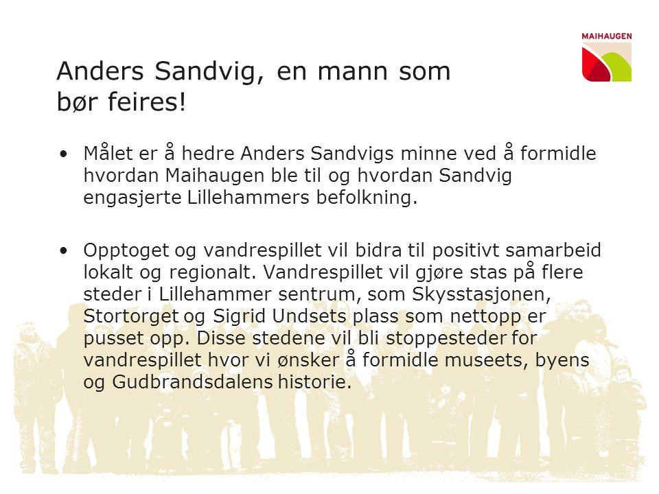 Anders Sandvig, en mann som bør feires!