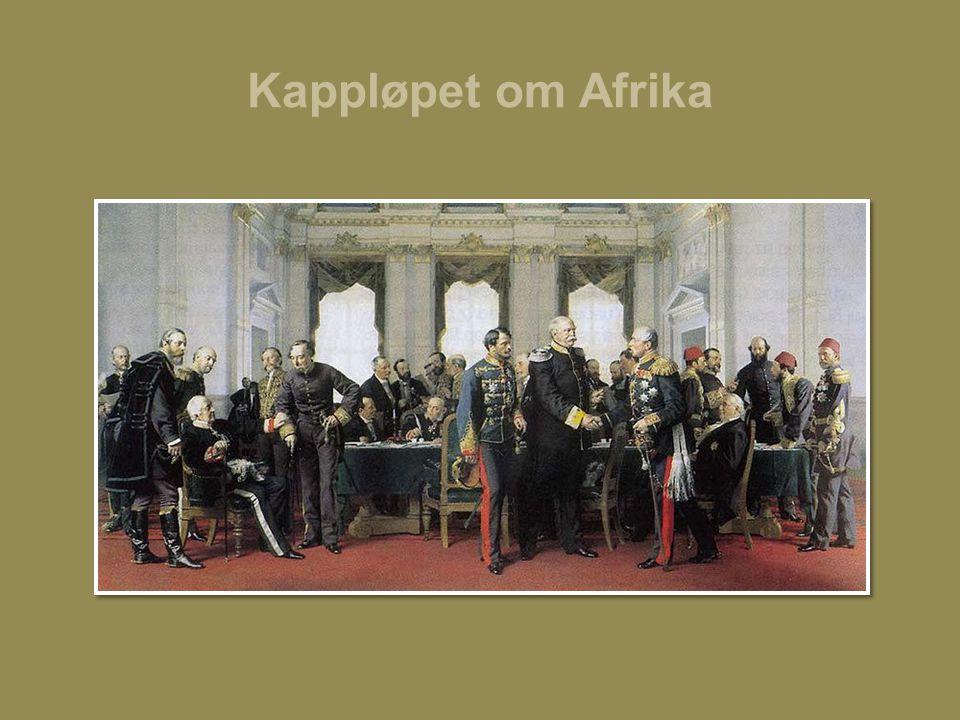 Kappløpet om Afrika Bilde: Berlinerkongressen