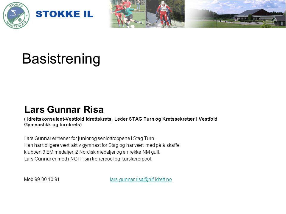 Basistrening Lars Gunnar Risa