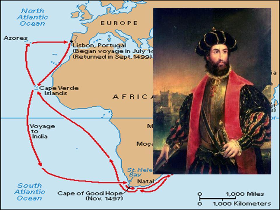 Afrika og India Varer fra Asia var svært viktige på 1400-tallet