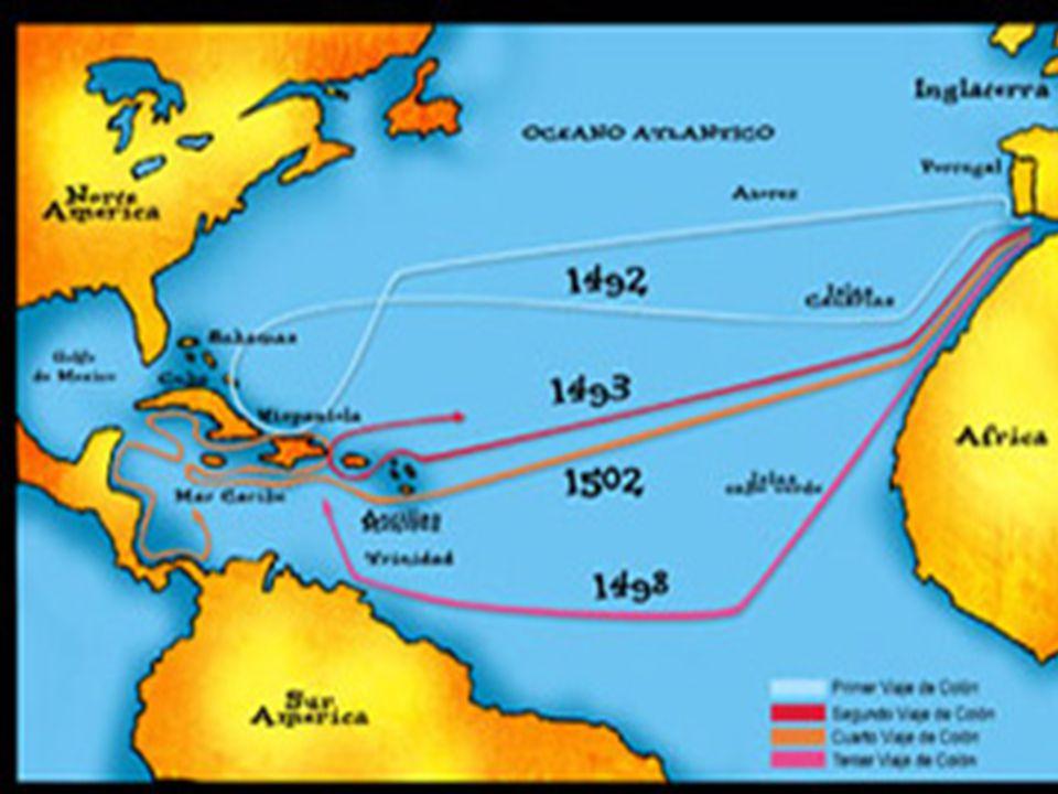 Amerika I 1492 ble det muslimske Granada erobret av spanske styrker