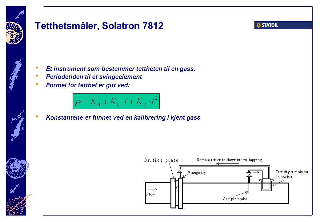Tetthetsmåler, Solatron 7812