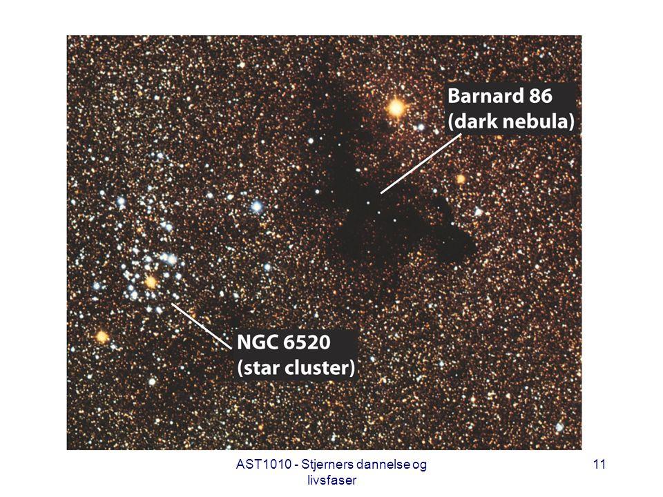 AST1010 - Stjerners dannelse og livsfaser