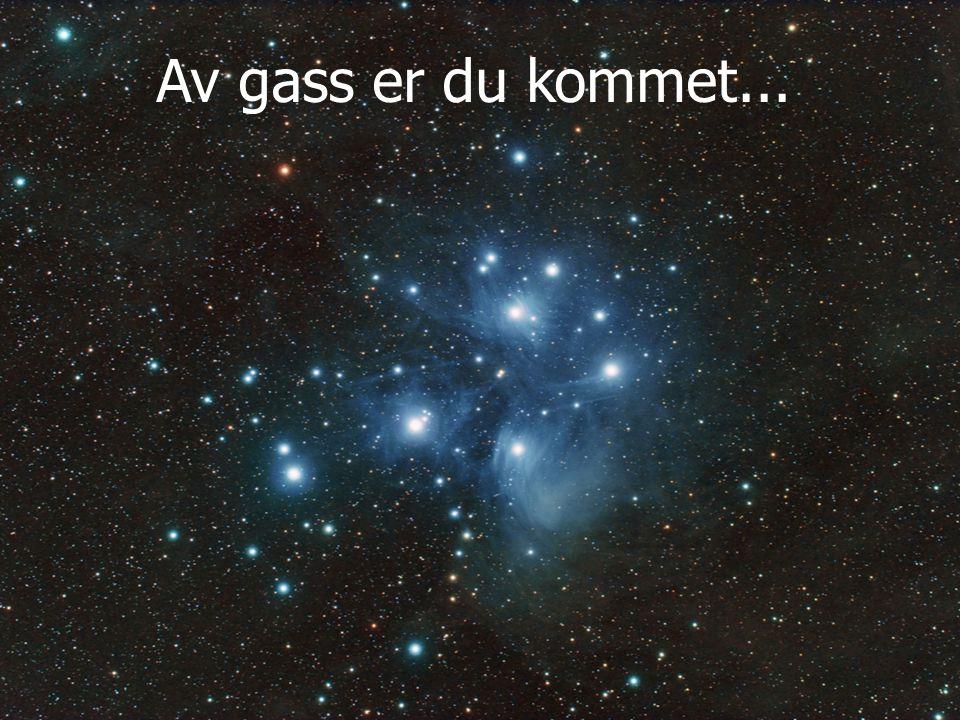 Av gass er du kommet...
