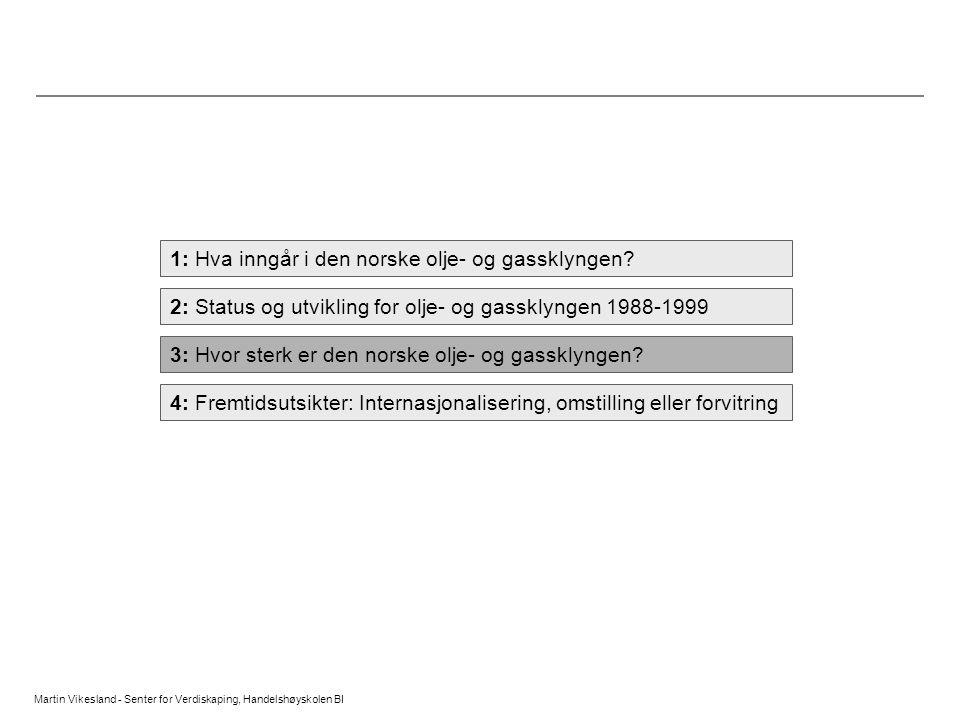 1: Hva inngår i den norske olje- og gassklyngen