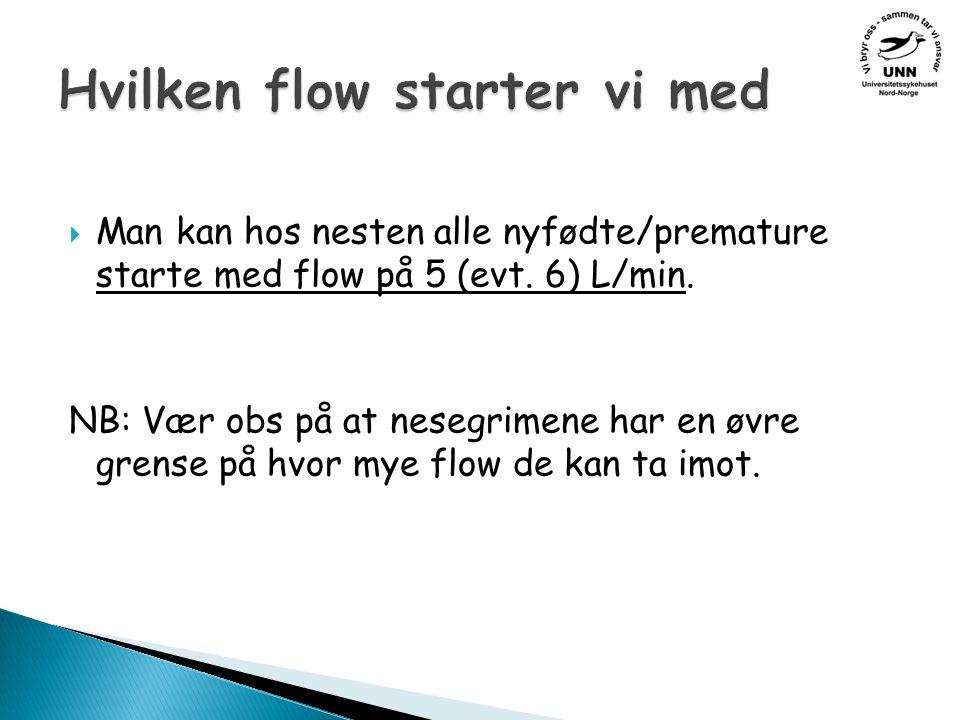 Hvilken flow starter vi med