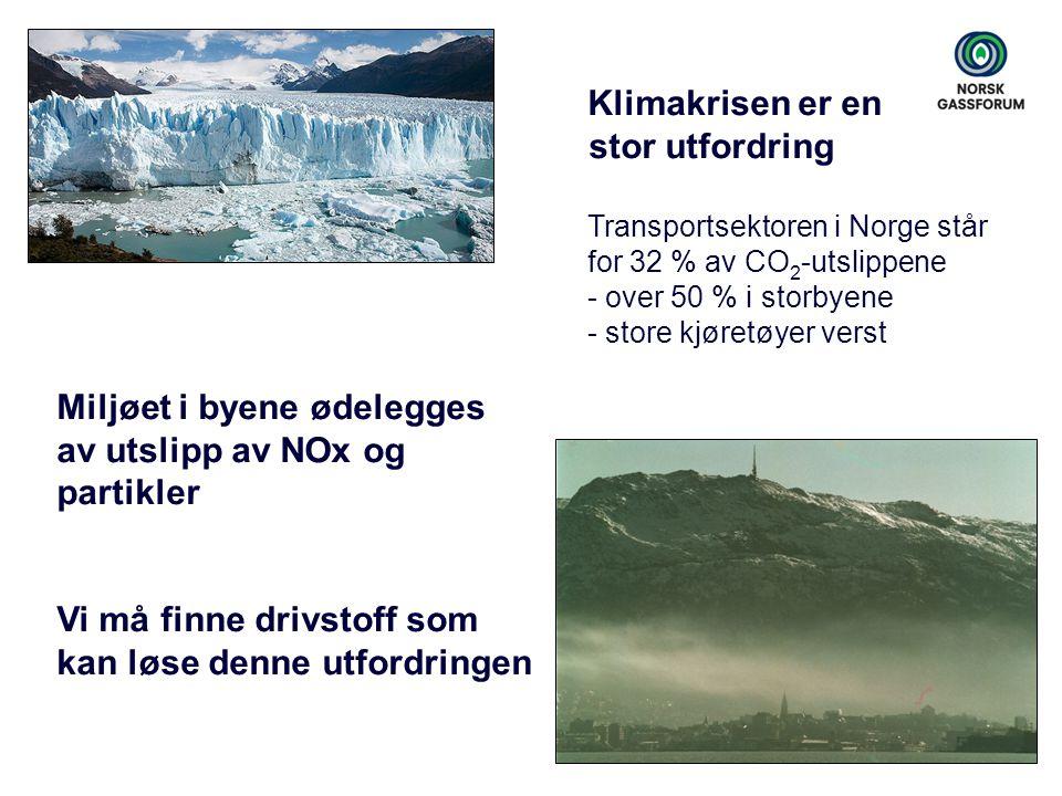 Miljøet i byene ødelegges av utslipp av NOx og partikler
