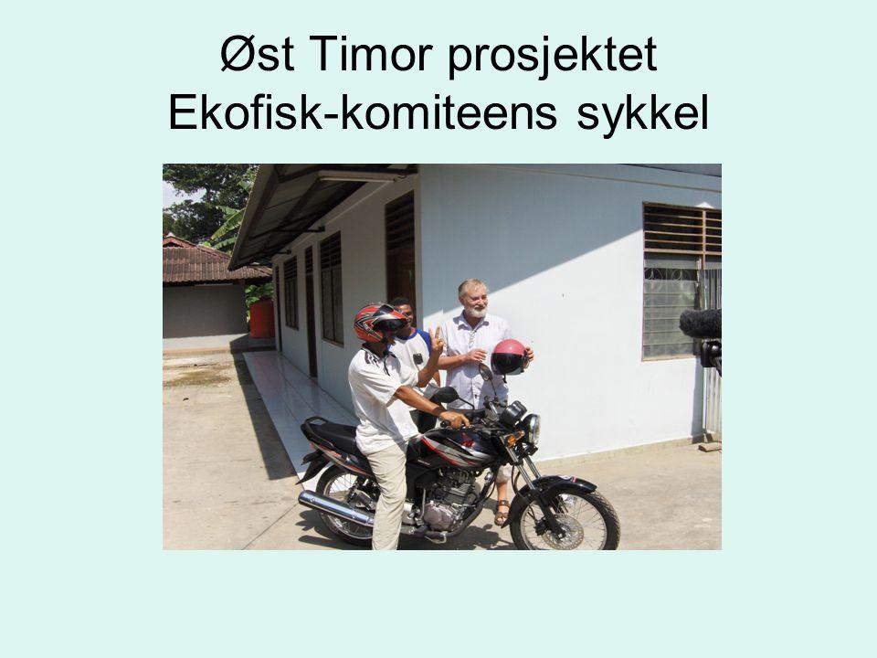 Øst Timor prosjektet Ekofisk-komiteens sykkel