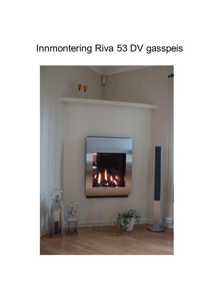 Innmontering Riva 53 DV gasspeis