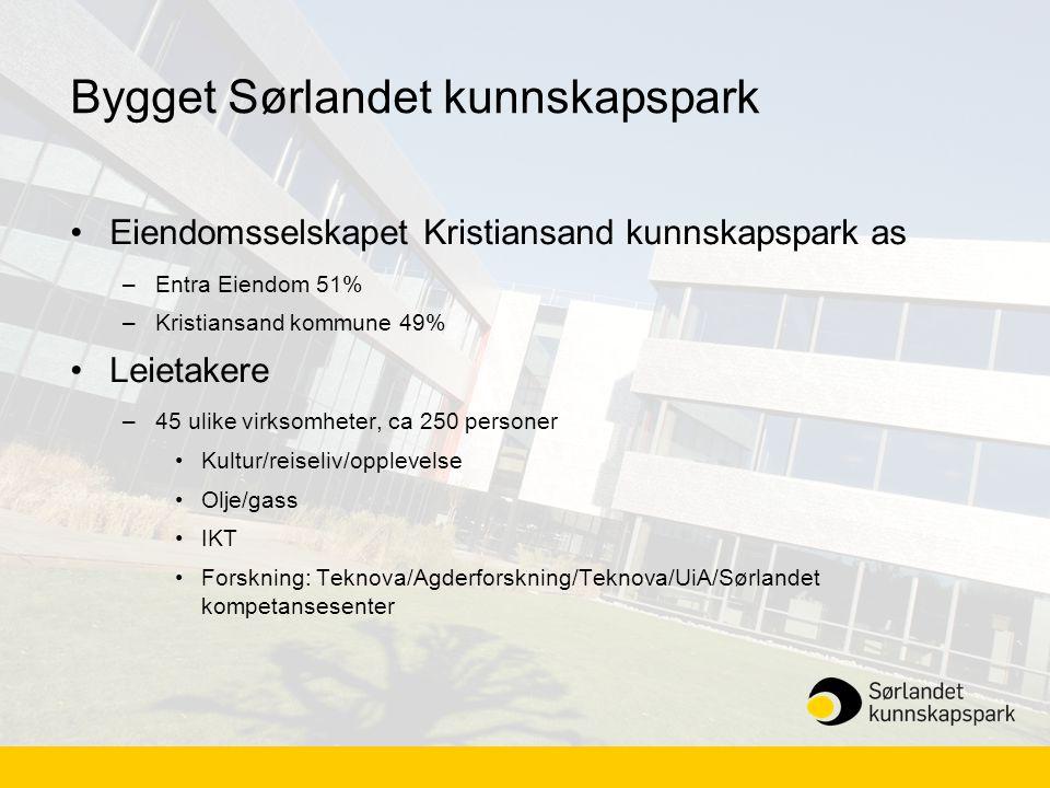 Bygget Sørlandet kunnskapspark