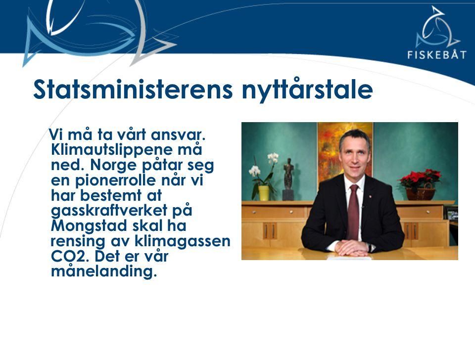 Statsministerens nyttårstale