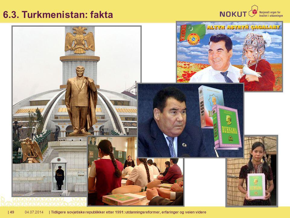 6.3. Turkmenistan: fakta 04.04.2017.