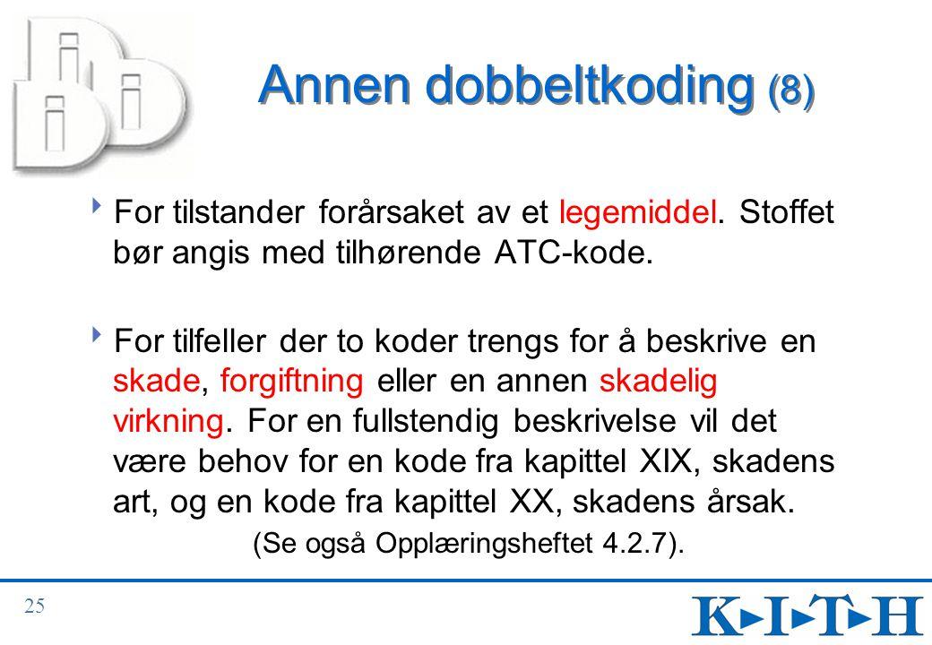 Annen dobbeltkoding (8)