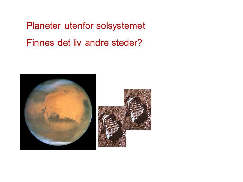 Planeter utenfor solsystemet