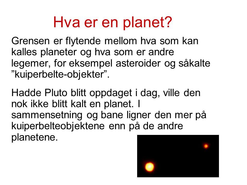 Hva er en planet