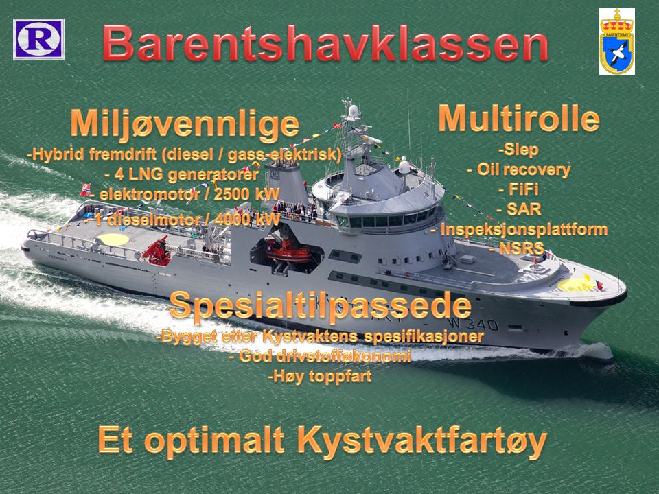 Barentshavklassen Multirolle Miljøvennlige Spesialtilpassede