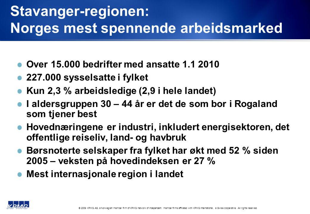 Stavanger-regionen: Norges mest spennende arbeidsmarked