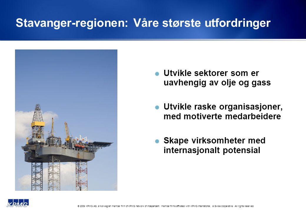 Stavanger-regionen: Våre største utfordringer