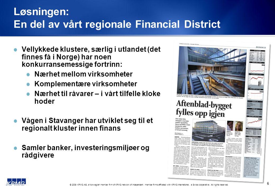 Løsningen: En del av vårt regionale Financial District