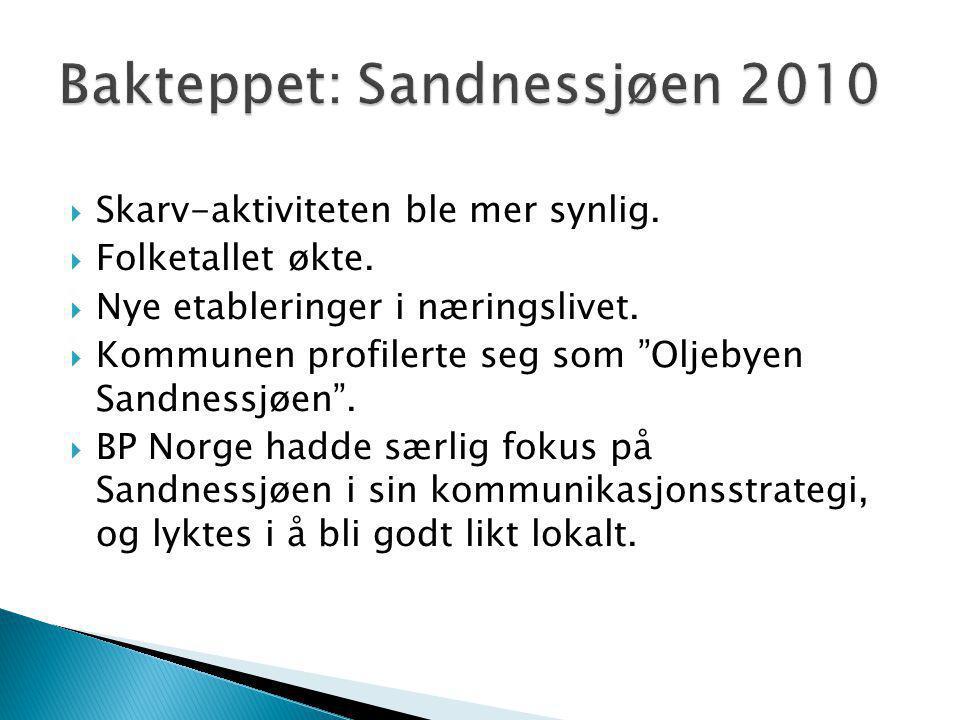 Bakteppet: Sandnessjøen 2010