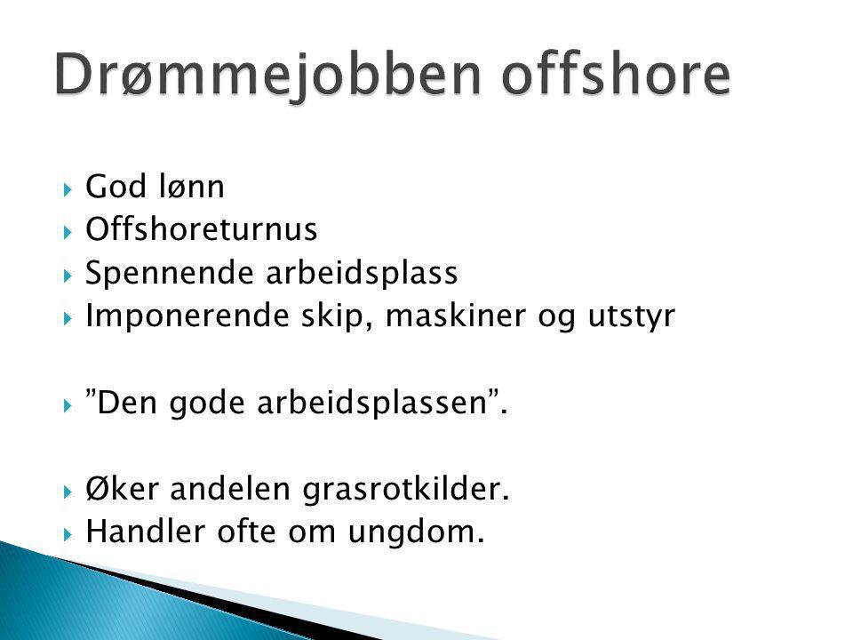 Drømmejobben offshore