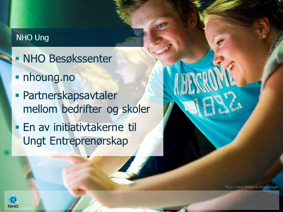 Partnerskapsavtaler mellom bedrifter og skoler
