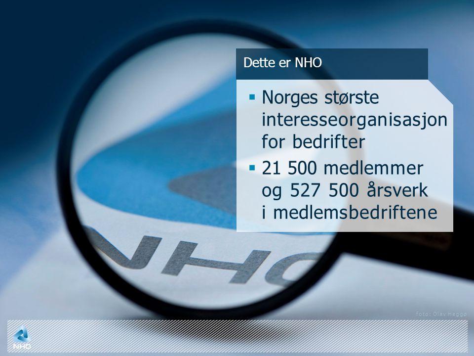Norges største interesseorganisasjon for bedrifter