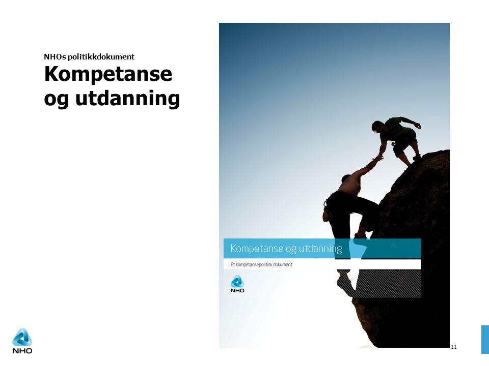 NHOs politikkdokument Kompetanse og utdanning